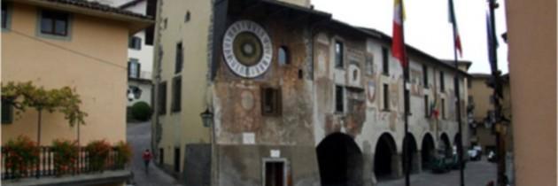 Orologio Planetario Fanzago di Clusone Valle Seriana Bergamo Italia foto fotografie immagini paese di clusone