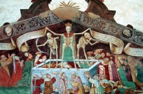 Trionfo della morte Clusone valle seriana bergamo italia chiesa dei disciplini di clusone