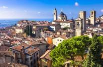citta di bergamo lombardia italia fotografie della citta bergamo