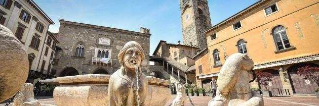 Foto dei paesi di citt alta bergamo lombardia italia for Mercatini bergamo e provincia oggi
