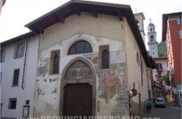 foto fotografie immagini chiesa Basilica clusone di Santa Maria Assunta chiesa di Clusone Valle Seriana Bergamo Italia