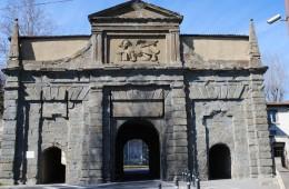 foto porta santagostino Mura venete di accesso alla Città Alta attività culturali provincia di bergamo italia