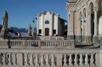 fotografie Basilica di Santa Maria Assunta chiesa di Clusone Valle Seriana Bergamo Italia foto immagini paese