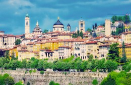fotografie bergamo citta Mura venete provincia di Bergamo lombardia italia foto immagini