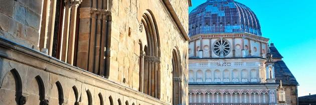 fotografie delle chiese a bergamo val seriana lombardia italia foto immagini
