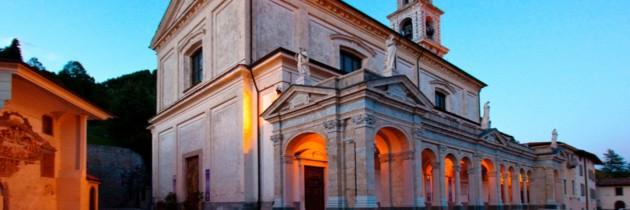 immagini della basilica di santa maria assunta di clusone valle seriana bergamo italia