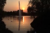 paesi di bergamo lombardia italia parco della trucca natura paesaggio tramonto
