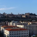 panoramica provincia di bergamo italia fotografie immagini Panoramic view of high city
